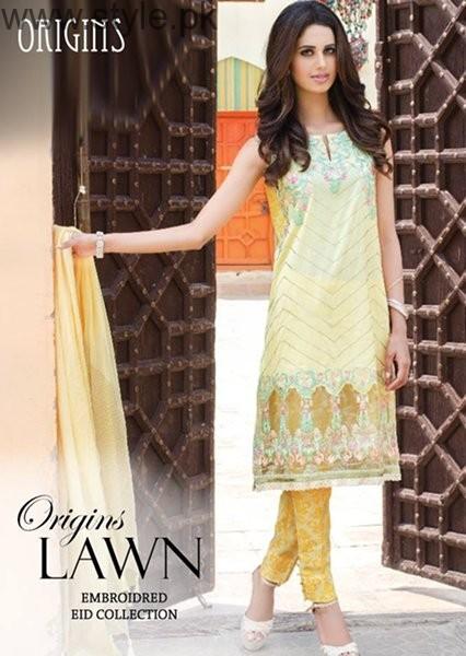 Origins Eid Ul Azha Dresses 2016 For Women001