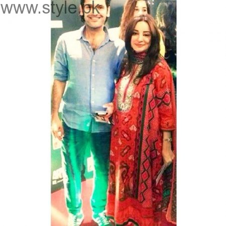 Pakistani Celebrities at their baby Shower (5)