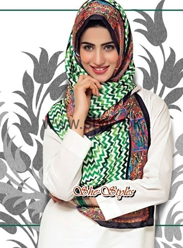 Pakistan's Independence Day Scarves 2016 (3)