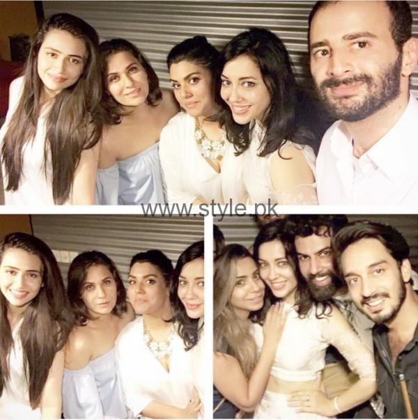 Celebrities at Shazia naz birthday