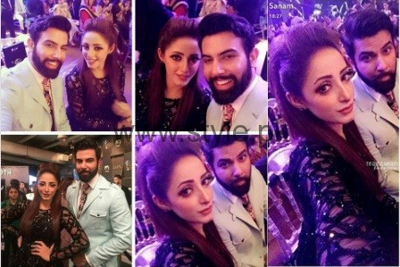 Sanam Chaudhry and Noor Hassan 2016