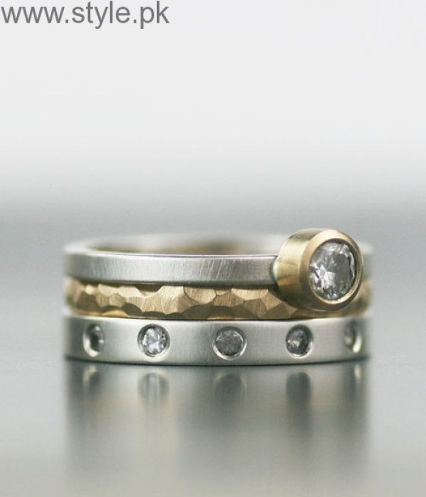 Stacked Wedding Rings