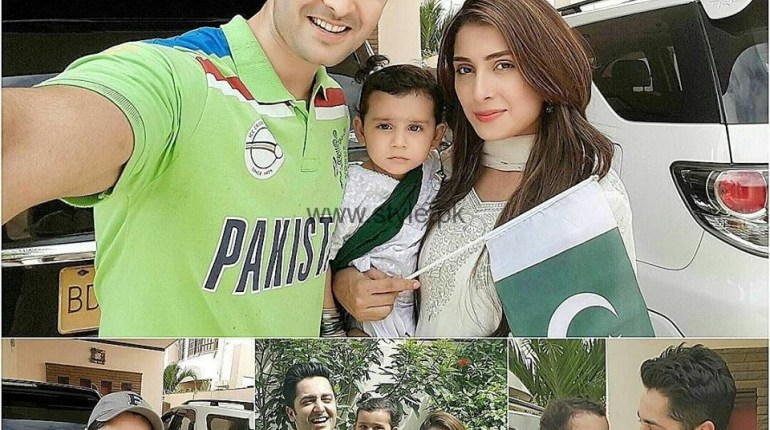 See Taimoor Family Celebrating Independence Day 2016