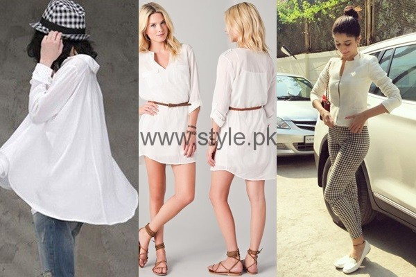 White Summers Tops for Women 2016 (1)