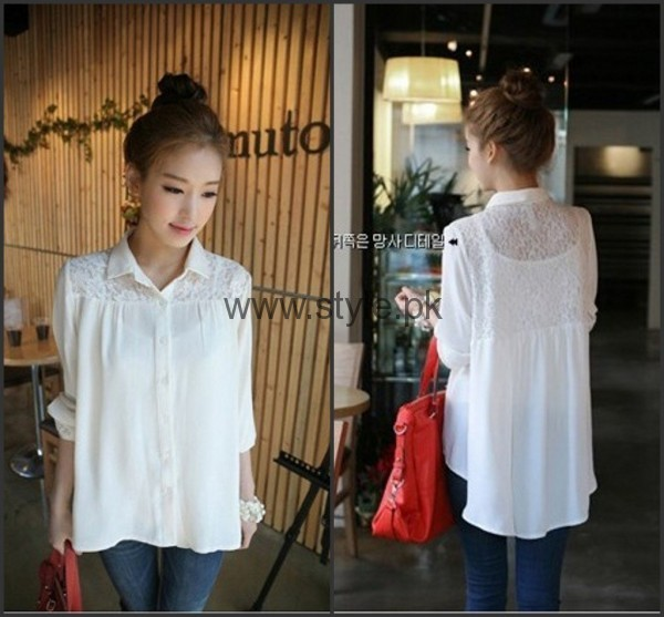 White Summers Tops for Women 2016 (11)
