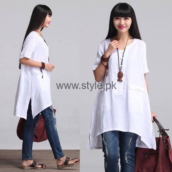 White Summers Tops for Women 2016 (4)