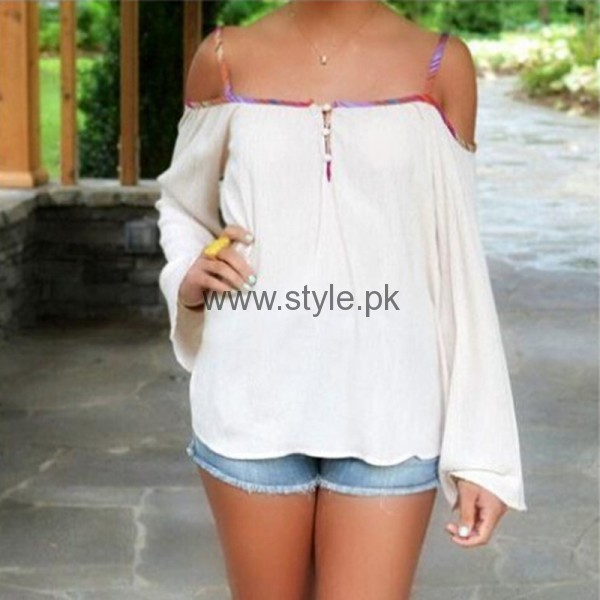 White Summers Tops for Women 2016 (9)