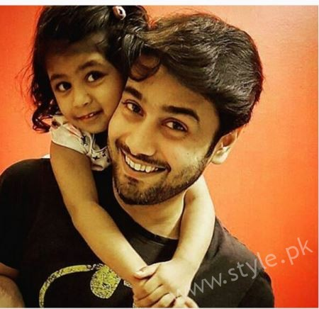 Actor Ali Abbas Family Pictures