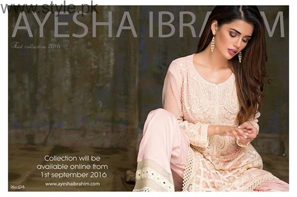 Ayesha Ibrahim Eid Ul Azha Dresses 2016 For Women001