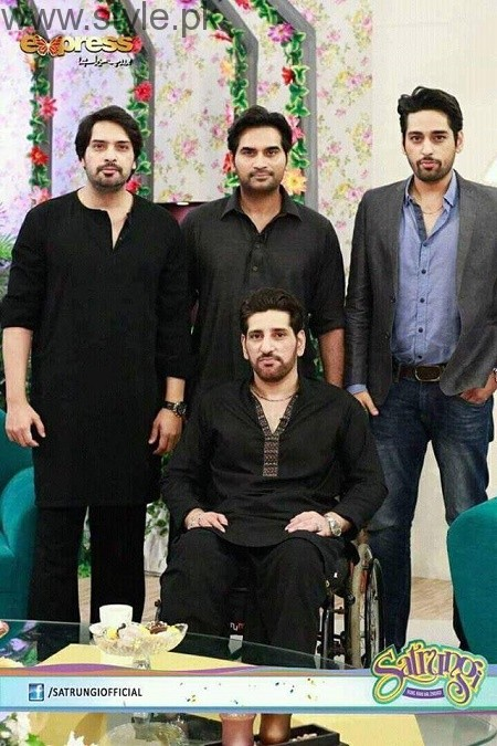 Humayun Saeed with his brothers (10)
