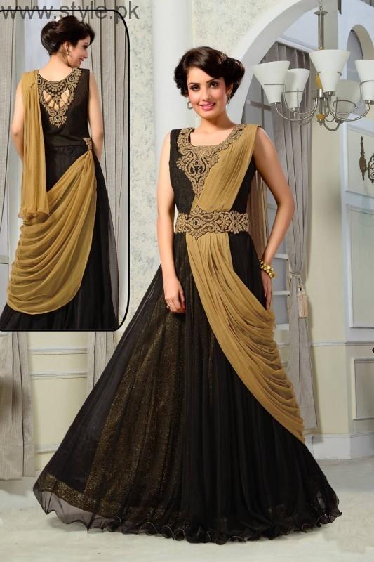 Latest Black Eid Dresses 2016 (6)