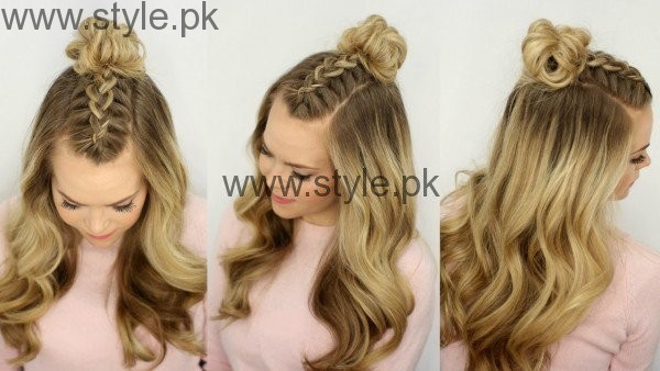 Latest Hairstyles for Eid 2016 (5)