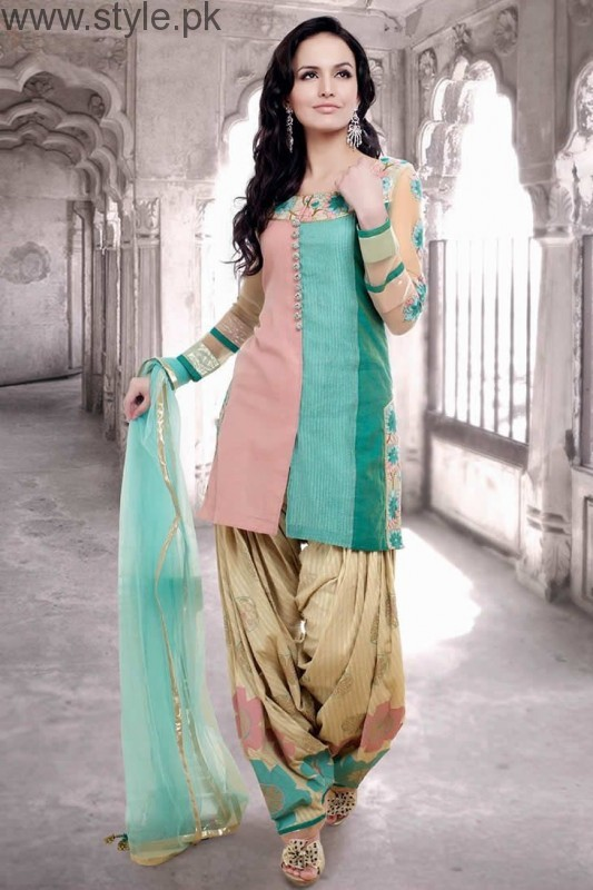 Latest Pakistani Eid Dresses 2016 (7)