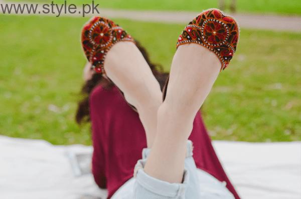 Latest Pakistani Khussa Designs 2016 for Eid (1)