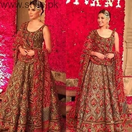 Mahira Khan and Ali Zafar walked on ramp for Divani Couture 2016 (5)