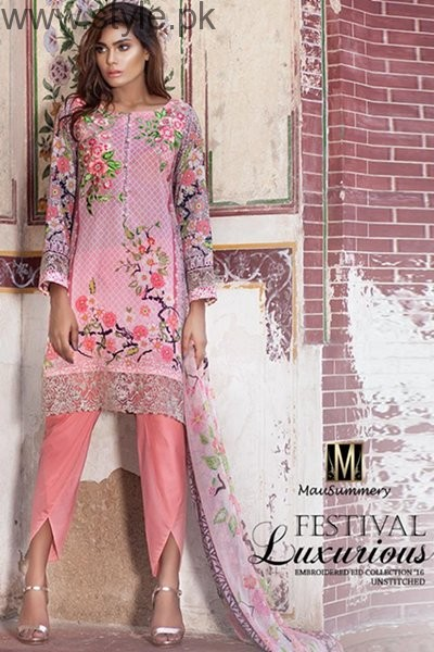 Mausummery Eid Ul Azha Dresses 2016 For Women004