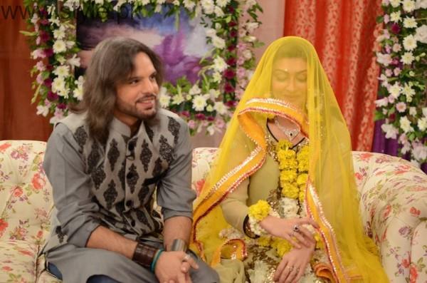 Nouman Javaid and Jana Malik's Mehndi Pictures (11)