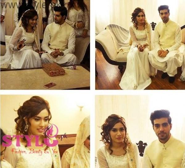 furqan qureshi and sabrina naqvi nikah pics