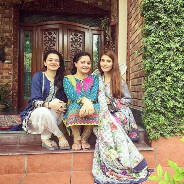 Pakistani Celebrities on Eid-ul-Azha 2016 Day 1 (19)