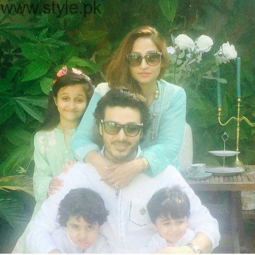 Pakistani Celebrities on Eid-ul-Azha 2016 Day 1 (4)