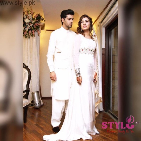 Sabrina Furqan and Furqan Qureshi Nikah Pictures