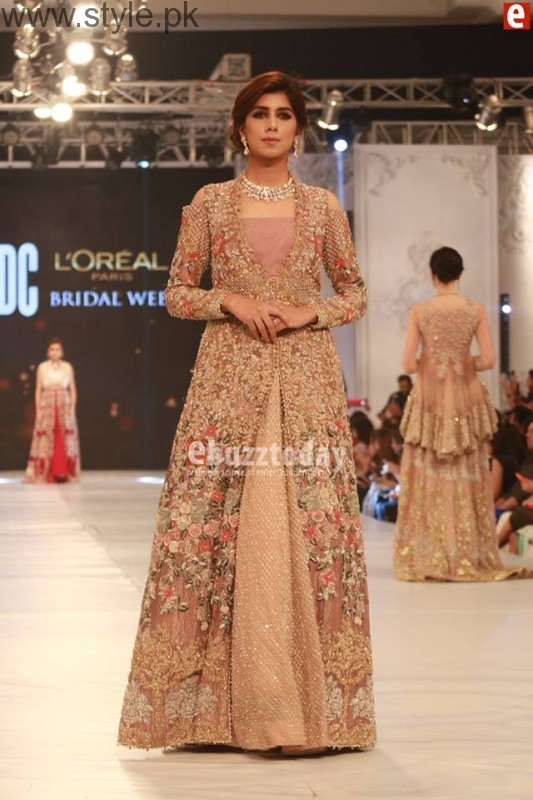 SairaShakira at PFDC L'Oreal Paris Bridal Week 2016 Day 1