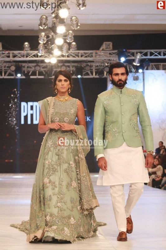 SairaShakira at PFDC L'Oreal Paris Bridal Week 2016 Day 1 (10)