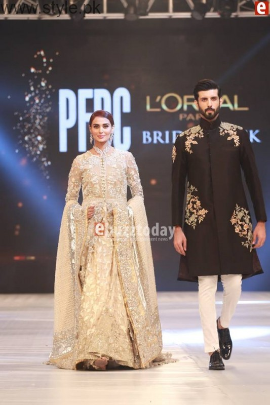 SairaShakira at PFDC L'Oreal Paris Bridal Week 2016 Day 1 (4)
