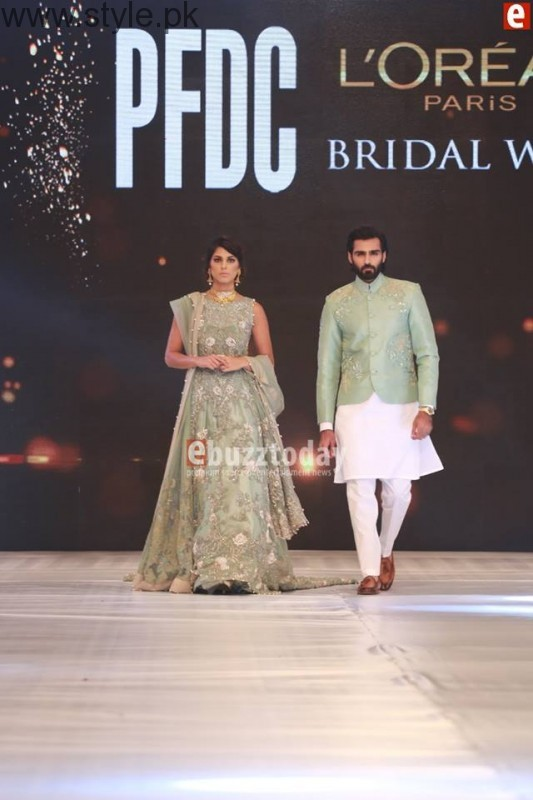 SairaShakira at PFDC L'Oreal Paris Bridal Week 2016 Day 1 (5)