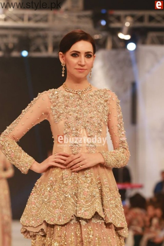 SairaShakira at PFDC L'Oreal Paris Bridal Week 2016 Day 1 (9)
