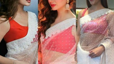 See White Saree is trending among Pakistani Celebrities