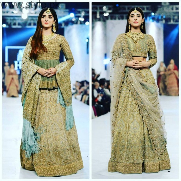 10 Best Dresses at PFDC L'Oréal Paris Bridal Week 2016 (12)
