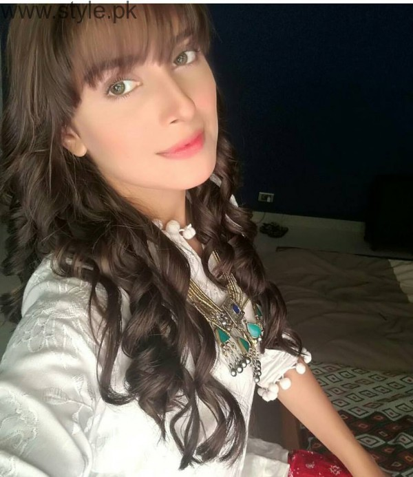See Ayeza Khan's totally different look