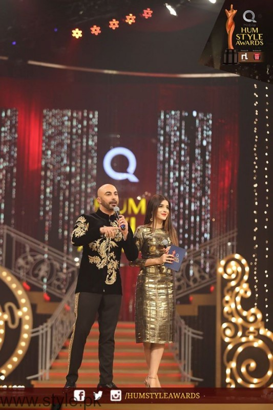 Celebrities at Qmobile HUM Style Awards 2016 (29)