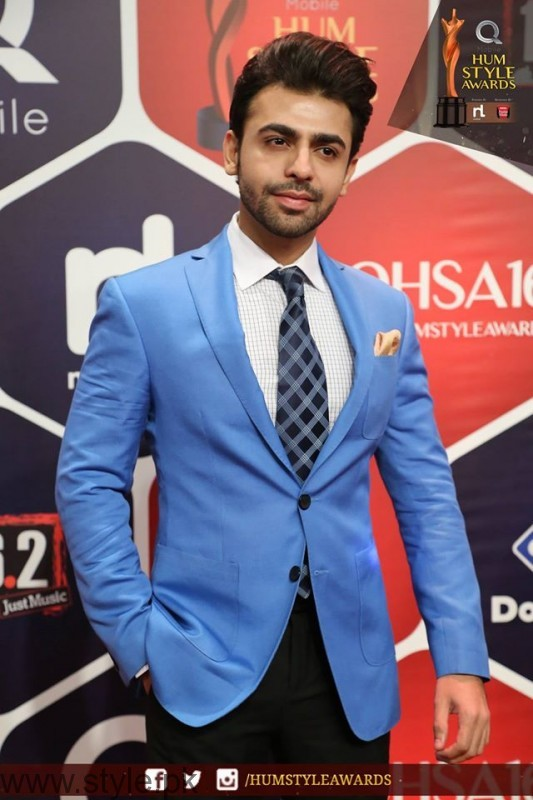 Celebrities at Qmobile HUM Style Awards 2016 (32)