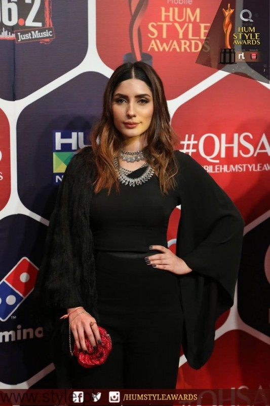 Celebrities at Qmobile HUM Style Awards 2016 (36)