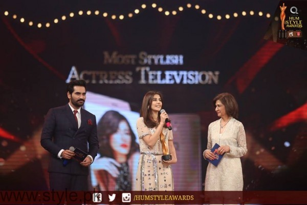 Celebrities at Qmobile HUM Style Awards 2016 (51)