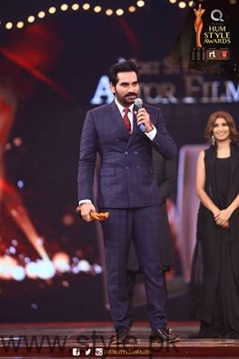 Celebrities at Qmobile HUM Style Awards 2016 (55)