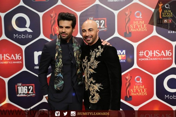 Celebrities at Qmobile HUM Style Awards 2016 (6)