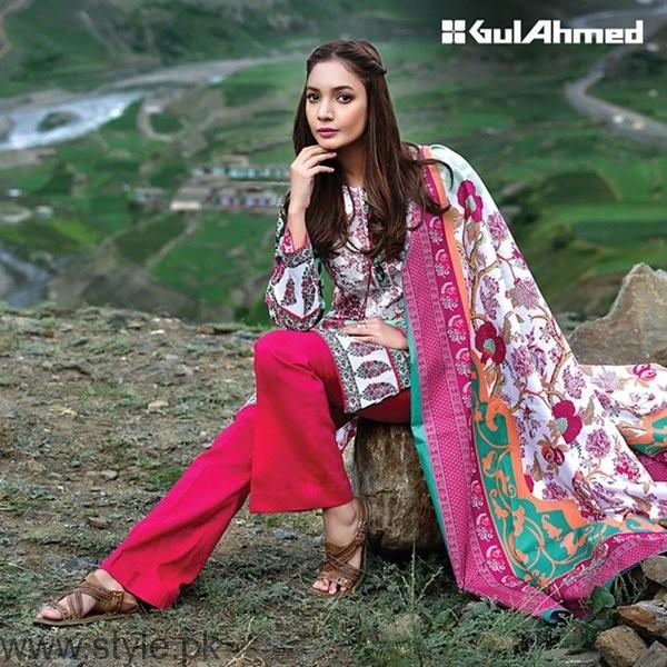 Gul Ahmed Winter Dresses 2016-2017 For Women009