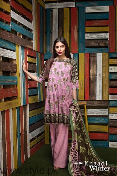 Khaadi Winter Dresses 2016-2017 For Women0013