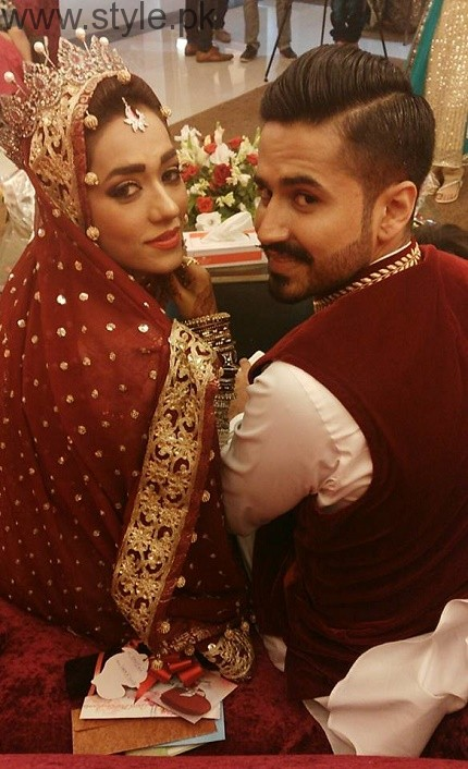 Rose Mohammed with husband Mirwaise