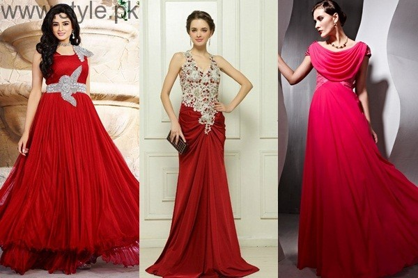 See Red Party Wear Dresses for Teenagers