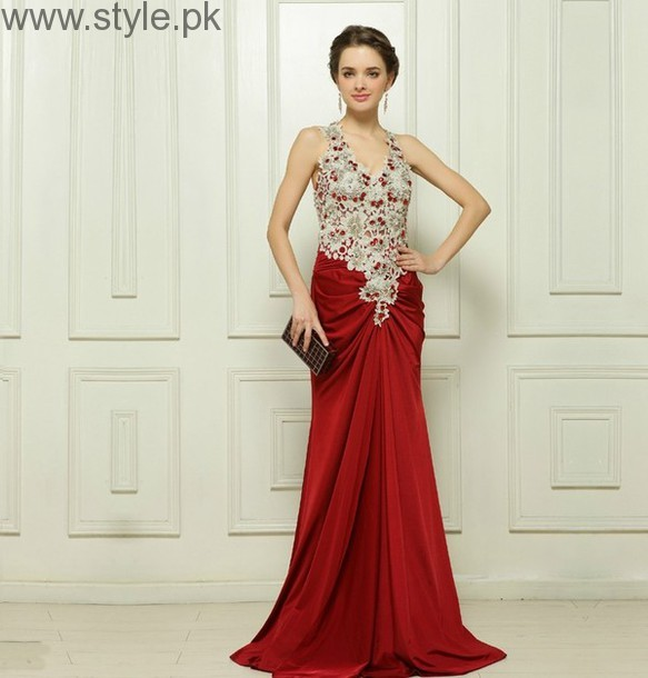 Red Party Wear Dresses for Teenagers (10)