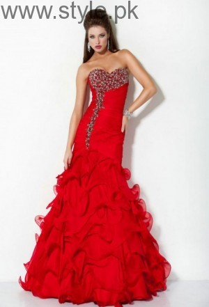 Red Party Wear Dresses for Teenagers (9)
