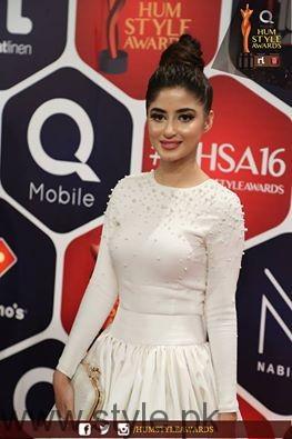 Sajal Ali Hum TV Style Awards