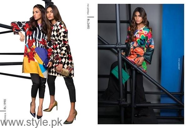 Sana Safinaz Ready To Wear Fall Dresses 2016 For Women002