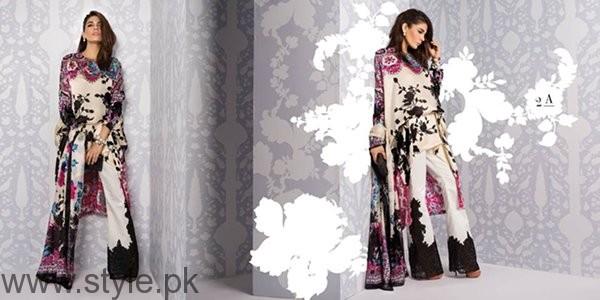 Sana Safinaz Silk Dresses 2016 For Women