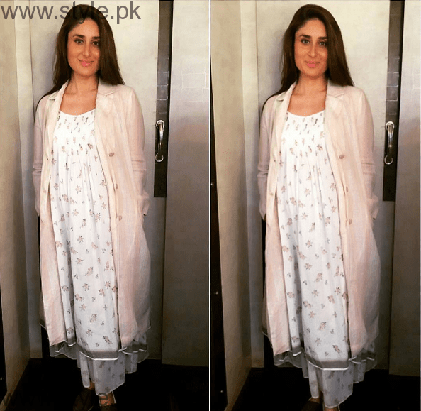 Sanam Jung and Kareena Kapoor give Style Goals to Pregnant women (2)
