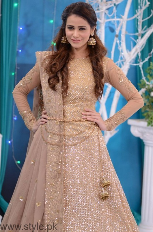 Trendy Bridal & Formal Dresses In Good Morning Pakistan